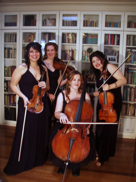 la marais string ensemble quartet melbourne wedding music Perfect day