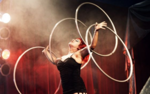 Kaos circus performer - Melbourne events 3